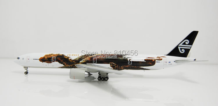 Free Shipping!1:400 JC wings Air New Zealand The Hobbit B777 model model airline aircraft model(China (Mainland))