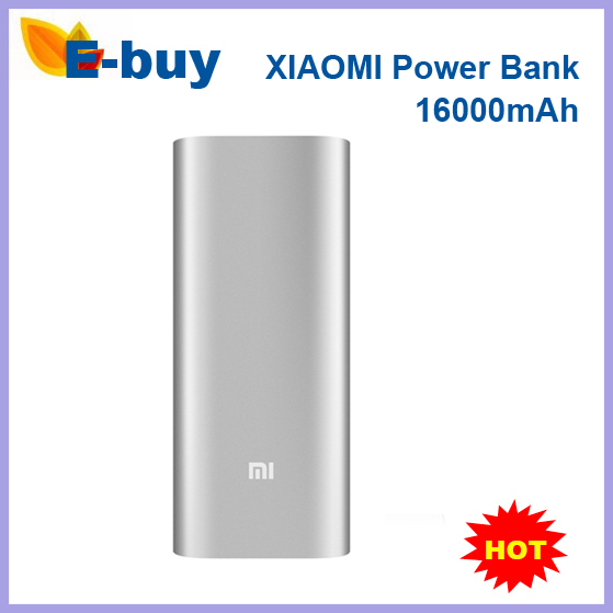 Original Xiaomi Power Bank 16000mAh Portable Charger Powerbank External Battery Pack xiaomi iphone Samsung HTC - E-Buy Store store