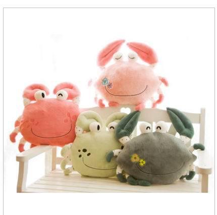 Free shipping stuffed animals big size crab 50CM Wholesale Children's Cartoon big Plush Toy kids toys(China (Mainland))