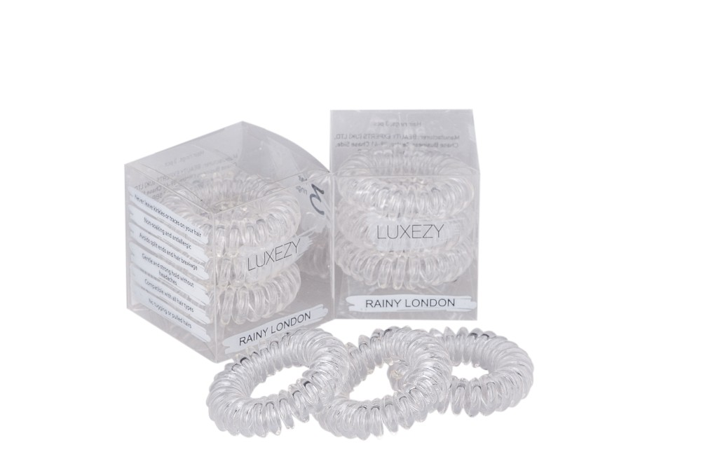 High quality fashion hair bands LUXEZY brand invisible hair bands accept OEM and distributors negotiable in bulk quantity