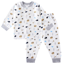 Autumn Babies Underwear Baby Cotton Long Sleeved Underwear Set Long Johns Home Furnishing Clothing(China (Mainland))