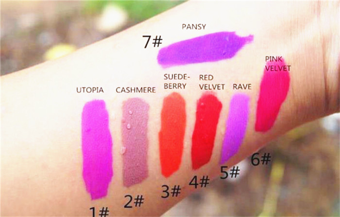HOT:2016 the new Fashion Makeup VELVETINES Lip Gloss THE ORIGINAL LIQUID TO MATTE LIPSTICK many colors<br><br>Aliexpress