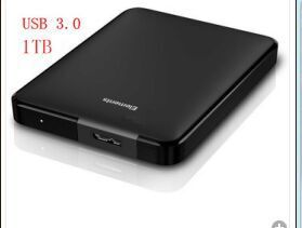 Free shipping New style 1TB 1000GB hd externo portable external hard disk drive USB 3.0 hdd(China (Mainland))