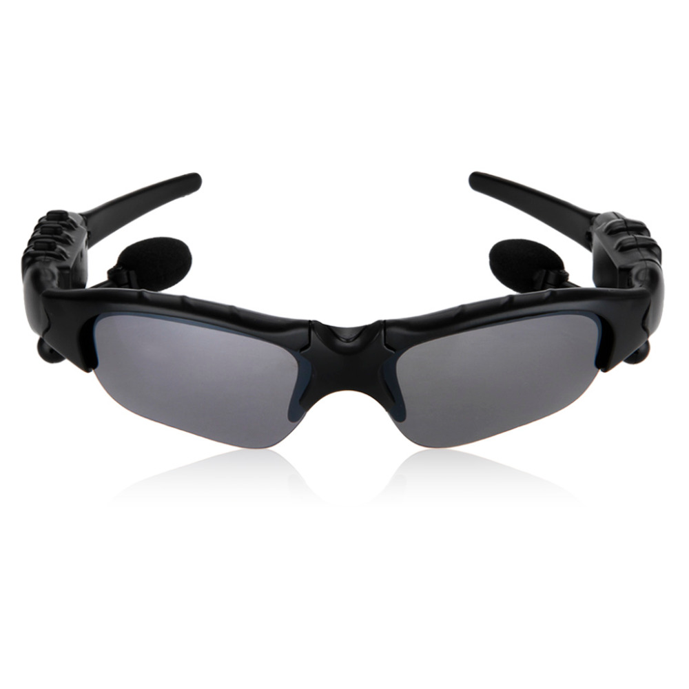 Sunglasses Bluetooth Headset Outdoor Glasses Earbuds Music with Mic Stereo Wirel