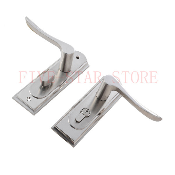 Popular bathroom door lock types buy cheap bathroom door for Door lock types