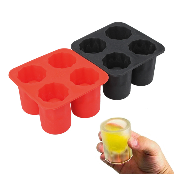 NEW Summer Bar Party Drink Ice Tray Cool Funny Skulled Shape Ice Cube Freeze Mold Ice Maker Mould Wholesale Retail(China (Mainland))