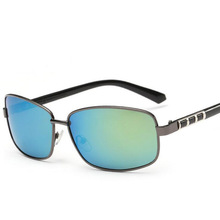 New Style Retro Fashion Colorful Aviator Rectangle Glasses Men's Polarized Sunglasses Women Driving Tide Sunglasses