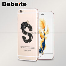 Babaite Riverdale South Side Serpents TPU Soft Rubber Phone Case Cover for Apple iPhone 8 7 6 6S Plus X XS MAX 5 5S SE XR(China)