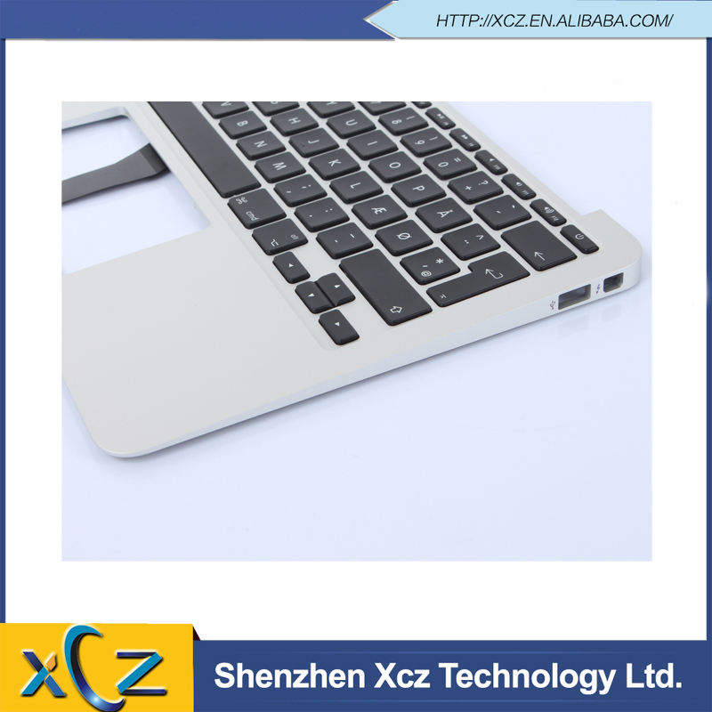"Brand new Top Case with keyboard for MacBook Air 11"" A1465 2013 MD711 MD712 Topcase with Keyboard Danish layout(China (Mainland))"