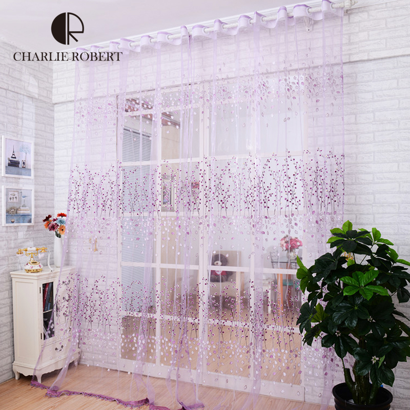 2 2m 2016 new brand tulle curtains for living room for M s living room curtains