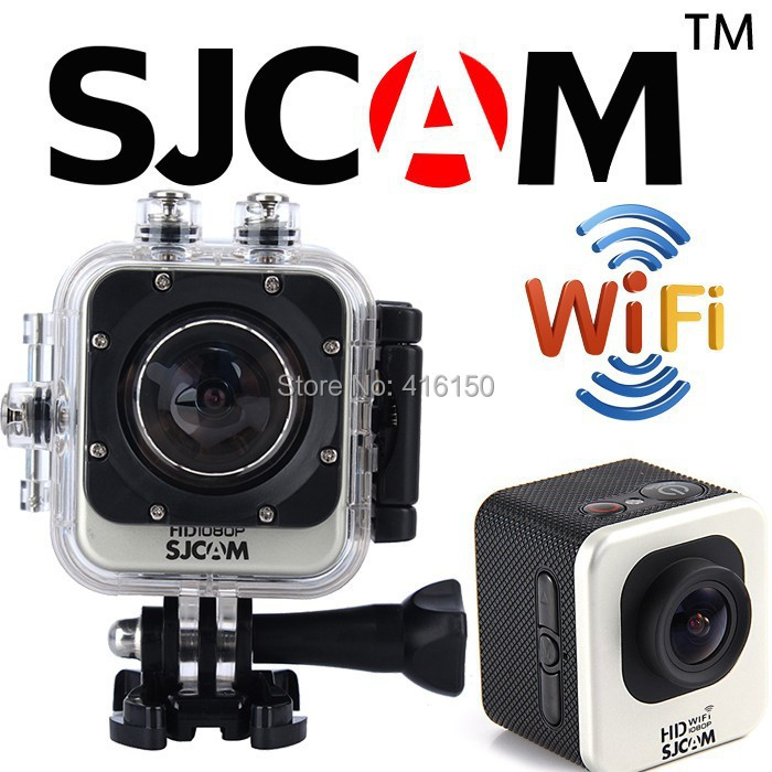 Original SJCAM M10W WIFI Full HD Sport Action Video Camera 1.5 inch HD screen Web Camera with Waterproof case mini camera(China (Mainland))