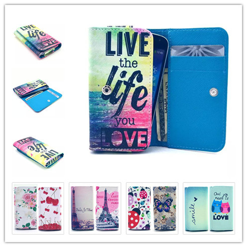 2015 Top Selling New Painting Leather Phone Cases For Acer CloudMobile S500 Wallet Style With Card Slot Back Cover Case(China (Mainland))