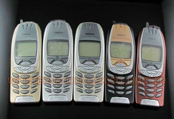 Original Nokia 6310i Mobile Phone Mercedes Benz Logo 2G GSM Tri-band Unlocked Bluetooth Wholesale Retail Cellphones(China (Mainland))