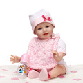 Soft Body Silicone Reborn Baby Doll Toys Lifelike For Child Brithday Gift Play House Cute Newborn