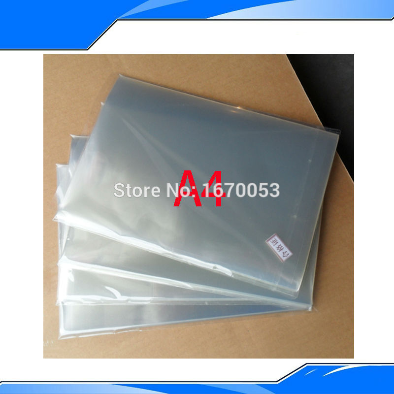 Low Price Five Pieces A4 Inkjet&Laser Transparency Film in Screen Printing Material Wholesale Price(China (Mainland))