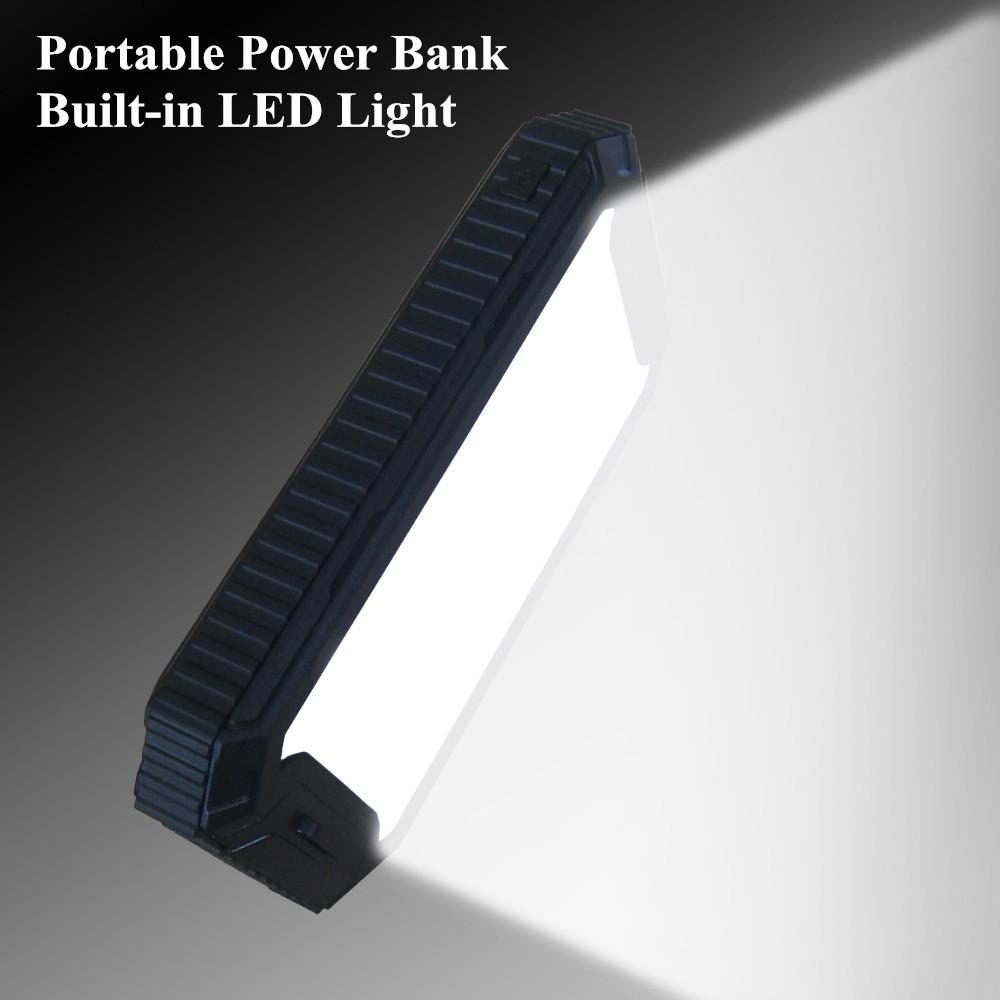 black solar charger