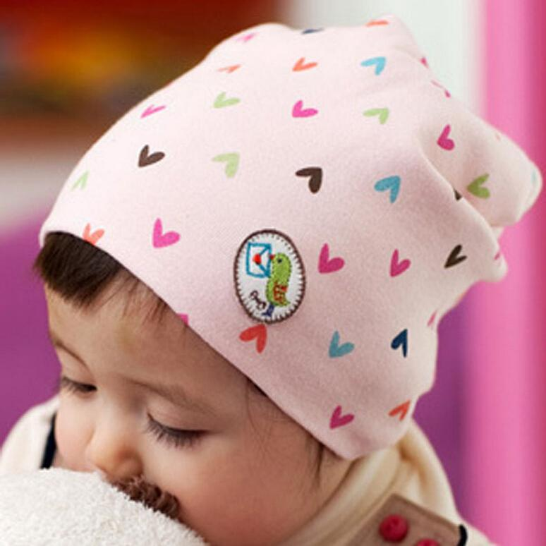 Winter Autumn Newborn Crochet warm Cotton Baby beanie Hat Girl Boy Cap Children Unisex Heart Infant Cute(China (Mainland))