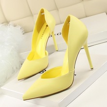 New Summer Shoes Women Elegant Pumps Fashion Sexy Club Ultra Thin High Shoes High-heeled Shoes Hollow Sweet Stiletto G3168-3
