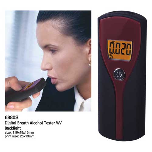 black red tester for personal use Free Shipping/ Personal Digital Display Breathalyzer/alcohol tester/tester in any time(China (Mainland))