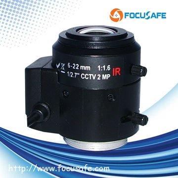 6-22mm 2MP Varifocal Auto iris Lens Box Camera - Fuzhou Focusafe Optoelectronic Technology Co., Ltd. store
