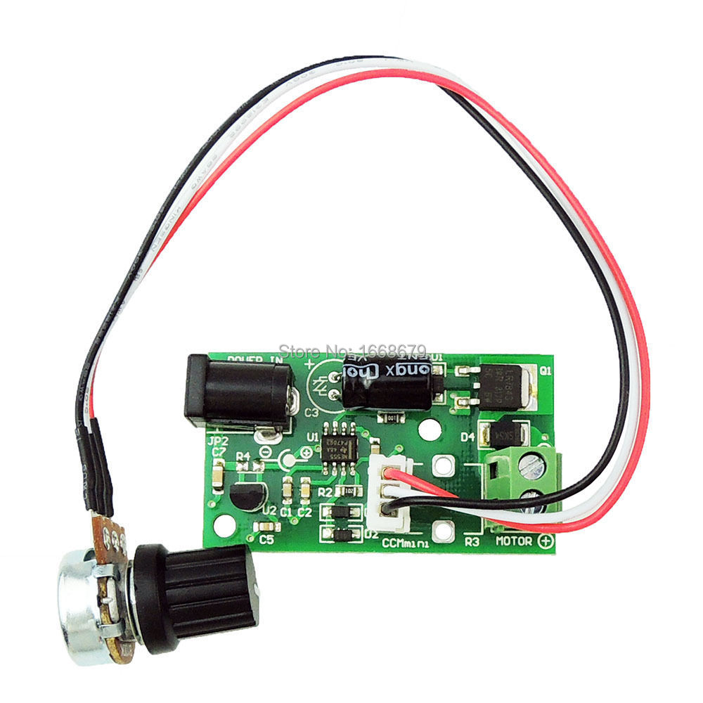 Pwm Dc Motor Speed Controller Variable Adjustable Speed
