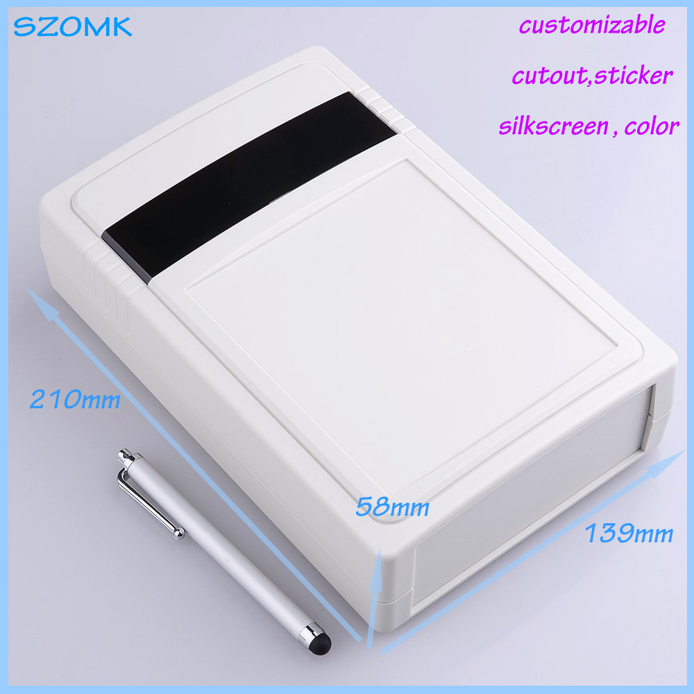 Wall mount plastic enclosure electronics small junction box abs 210*139*58mm - Eletronic Connector & Enclosure World store