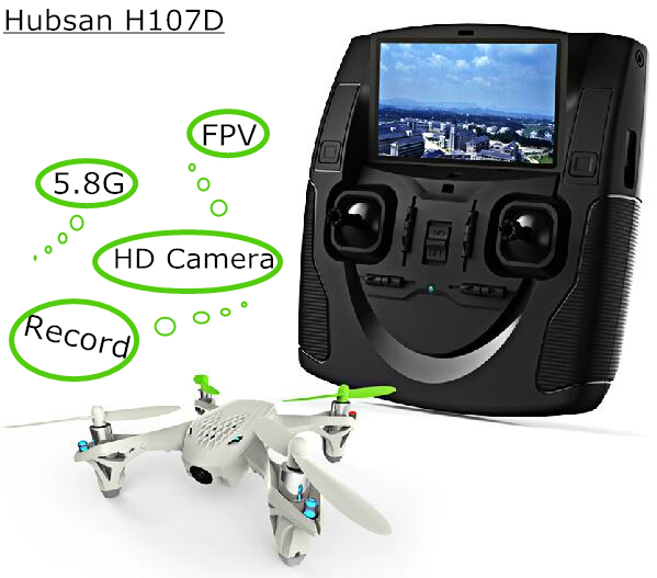 Hubsan X4 H107D FPV RC Quadcopter camera LCD Transmitter drone Live Video Audio Streaming Recording Helicopter Drop Ship outdoor(China (Mainland))