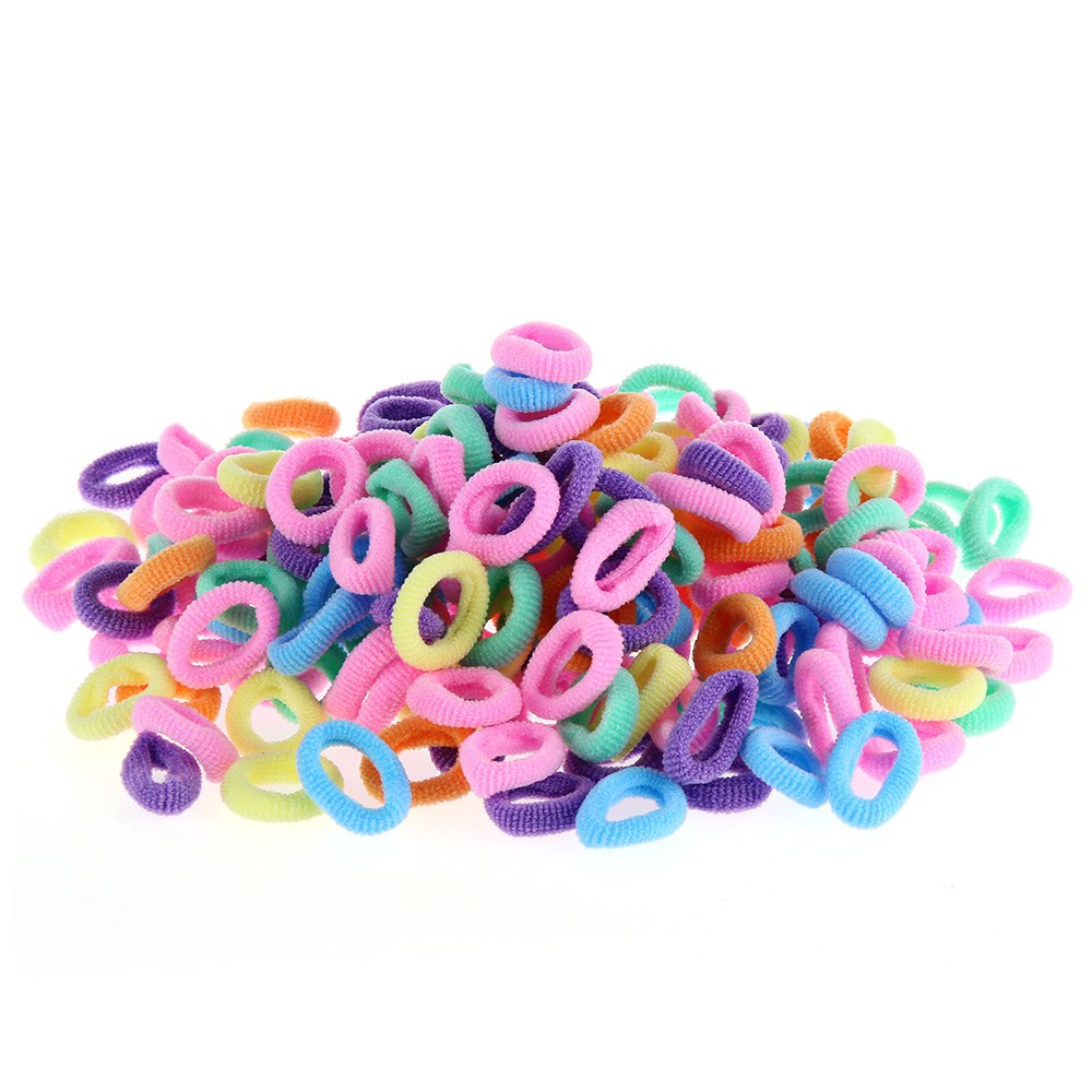 200pcs Fashion Children Headbands Qualitied Rubber Bands Elastic Baby Girls For Hair Accessories Ponytail Holders Free Shipping(China (Mainland))