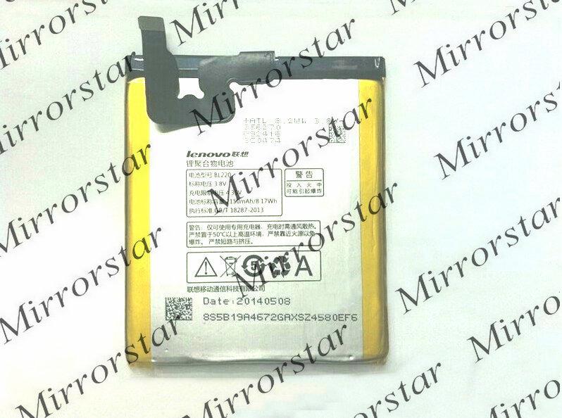 New 2150mAh original BL220 Battery For Lenovo S850 S850T Cell phone BL-220 Batterie Batterij Bateria
