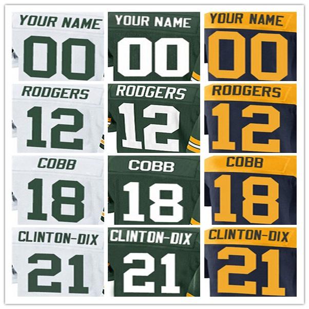 yingyuanFang best quality,Mens Aaron 18 Randall 21 Ha Ha 27 Eddie 52 Clay 87 Jordy jerseys(China (Mainland))