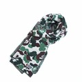 Fashion Men Winter Warm Knit Scarf Christmas Unisex Women Camouflage Wool Scarf