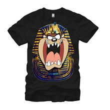 Buy Summer Short Sleeve Shirts Tops M~2xl Big Size Cotton Tees Free Looney Tunes Taz King Tut Mens Graphic T Shirt for $13.99 in AliExpress store