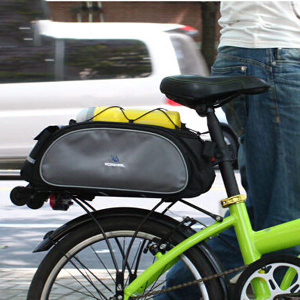 Seat Basket Saddle Hand Bag Multifunctional Back Bike Travel Bag Bicycle Bike Cycling Backpack Accessories Bicycle Bag(China (Mainland))