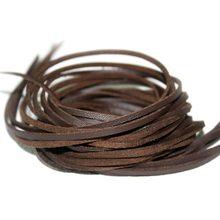 1 metro/lote 8mm camurça cabo de couro liso pulseira falso veludo cordas corda fio colar diy jóias descobertas FXU004-02(China)