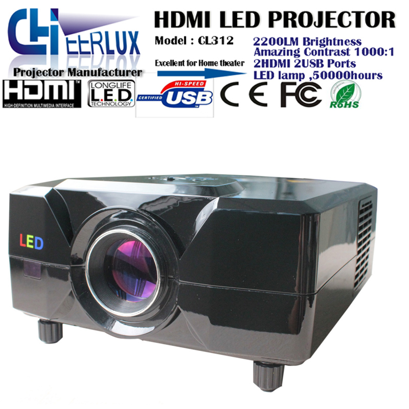 multiple use audio projector with dvd players & home use speakers & manual focus & image zoom for cinema & home & bar & outdoor(China (Mainland))