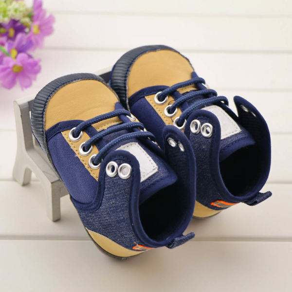 Baby Boys Girls Denim Sneakers Toddlers Non-slip Cute First Walkers Kids Shoes New Soft Sole - DIVINE store