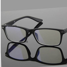 8145 2014 summer new myopia glasses frame plain mirror resilient small box sports a matte black