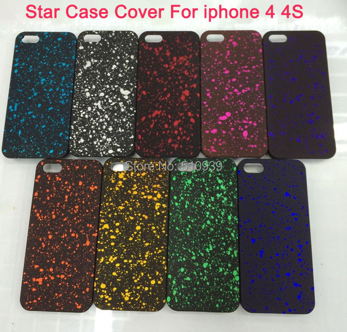 New Starry Sky Glitter Star 3D Case iPhone 4 4S Back Cover Fluorescence amazing Visual Effect cell phone cases - Hong Kong Cn-Lovely Trading Co.,Ltd. store