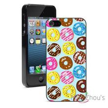 Doughnuts Protector back skins mobile cellphone cases for iphone 4/4s 5/5s 5c SE 6/6s plus ipod touch 4/5/6