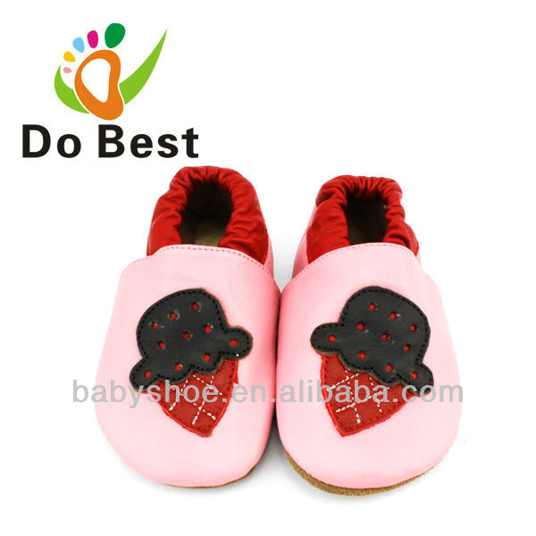 Dobest Brand Strawberry Soft Baby Kids Crib Toddler Shoes Moccasins For Boys And Girls First Walkers 2016 Autumn Spring Fashion(China (Mainland))