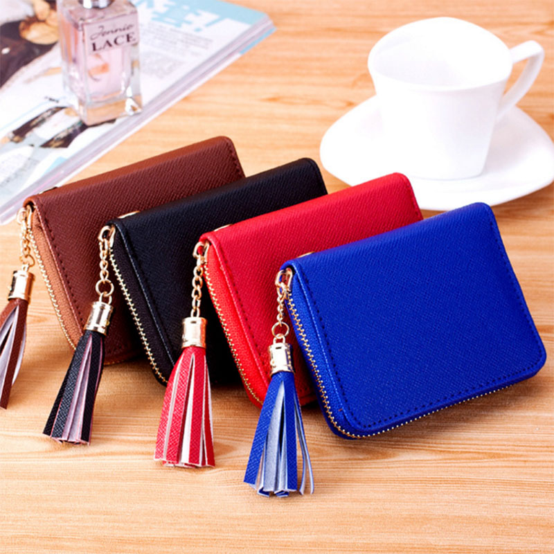 New Simple Hot Sale Popular Fashion Korean Style Womens Wallet Short Ladys Purse Portable Useful Creative Gifts P528<br><br>Aliexpress