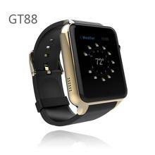 Gt88 SmartWatch интеллектуальный часы идеальный соединиться с Android и IOS телефонов Bluetooth 4.0 + NFC магнитного заряда для Samsung HTC
