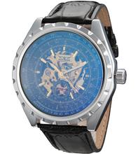 2015 nueva moda de lujo hombres de la marca de relojes mecánicos, relojes deportivos militar relogio masculino