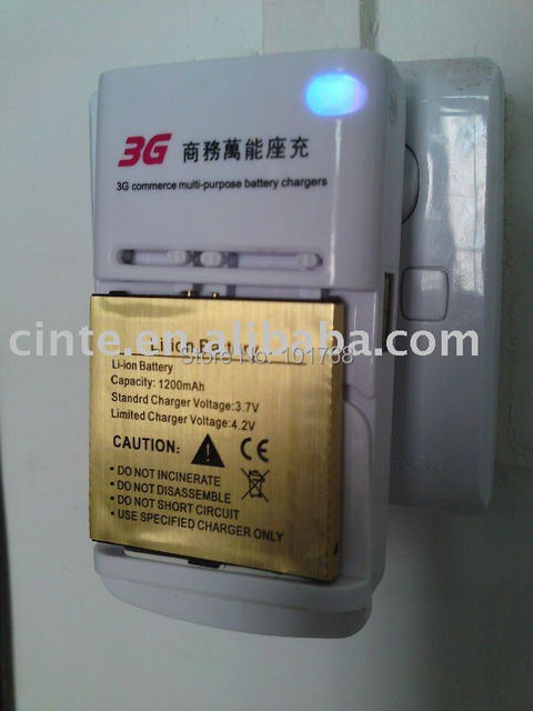 3G Commerce multi-purpose battery charger, battery wall charger, universal battery charger