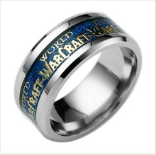 In 2016 popular fashion world of warcraft stainless steel jewelry high quality ring Lord of the rings(China (Mainland))
