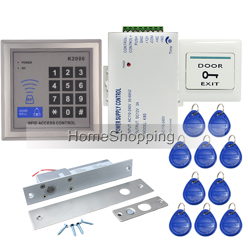 free shipping brand new rfid door access control system. Black Bedroom Furniture Sets. Home Design Ideas