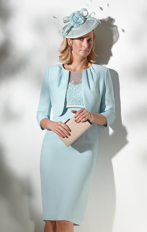Perfect Mother Of The Bride Short Dresses With Jackets Crest ...