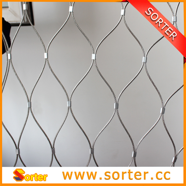 stainless steel zoo mesh animal enclosure for sale(China (Mainland))