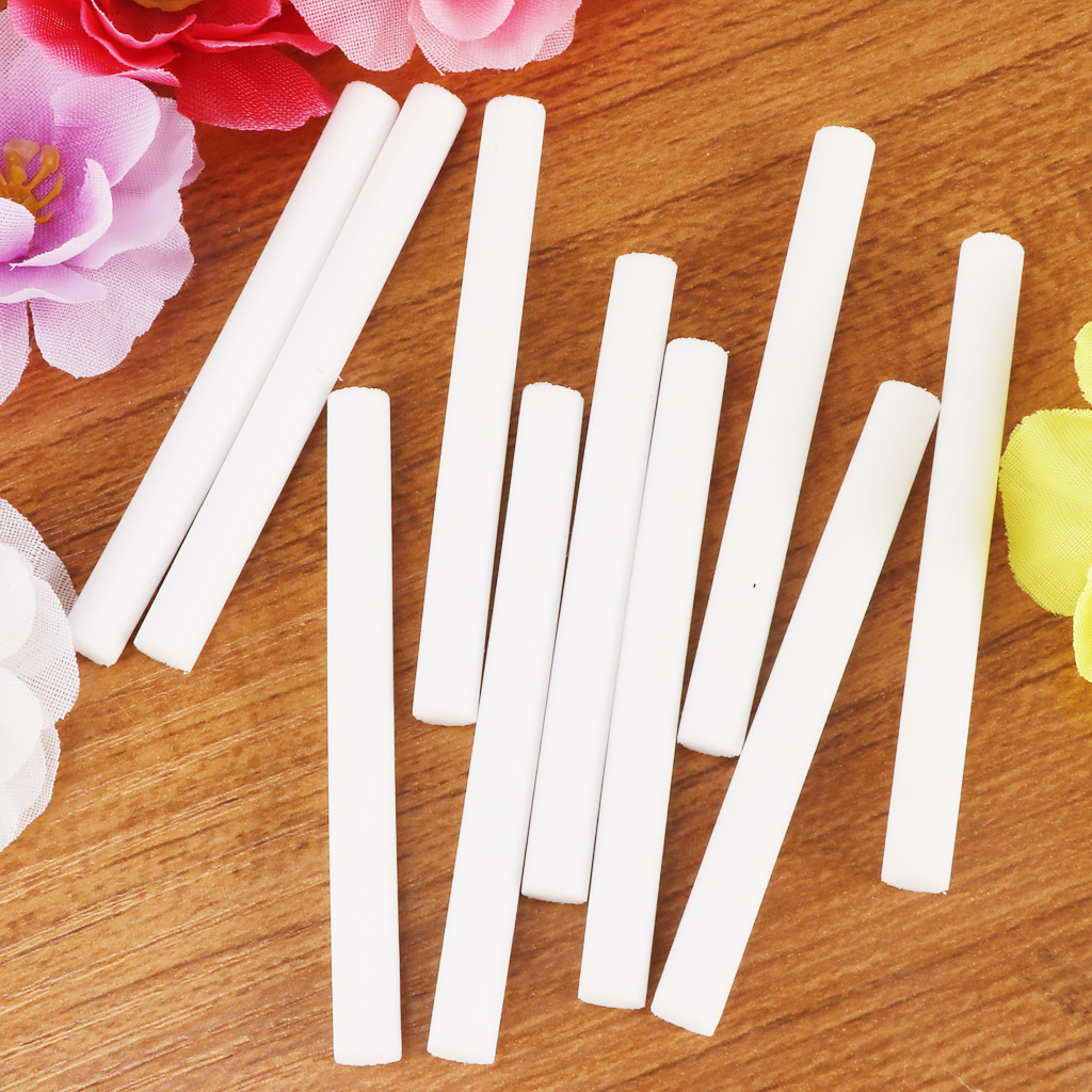 11-Pack Car Diffuser Sponges Refill Sticks Filter Wick Replacements, Absorbent sponge sticks (Lavender+inodorous )