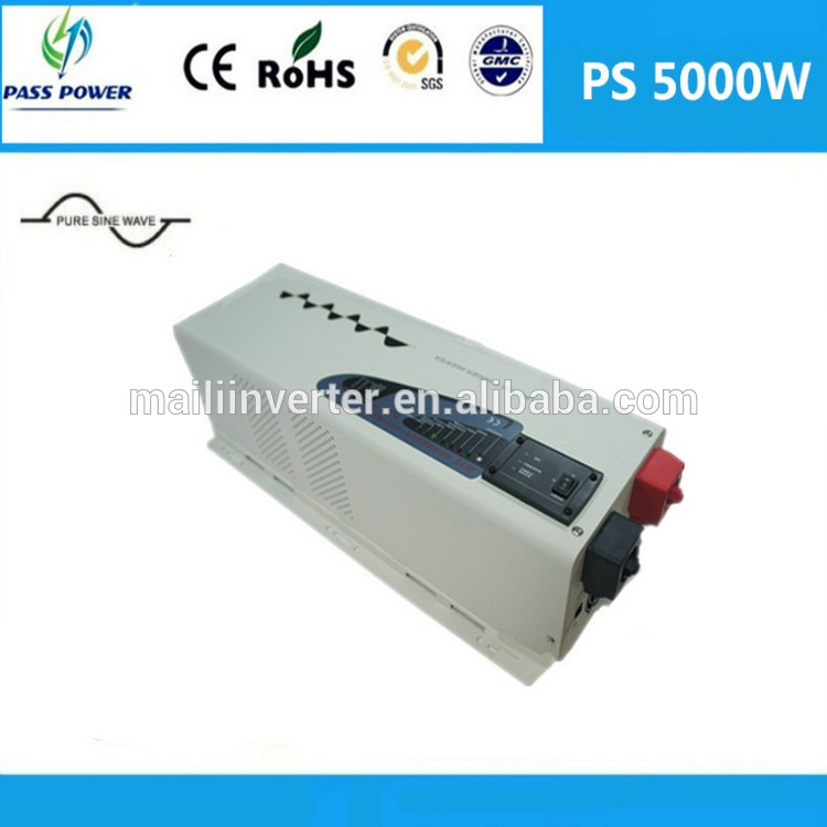 Factory Directly Selling DC AC Off Grid Inverter Low Frequency 5000w Hybrid Solar Inverter ,CE&RoHS approved(China (Mainland))